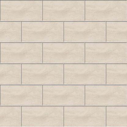 Immagine di Pavimento Tempio 30,2x60,4 cm, gres porcellanato, spessore 8 mm, confezione da 1,68 m², colore bianco