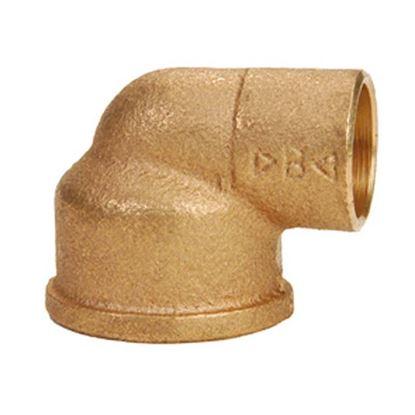 """Immagine di Gomito 90° bronzo, F 1"""", Ø 28 mm"""