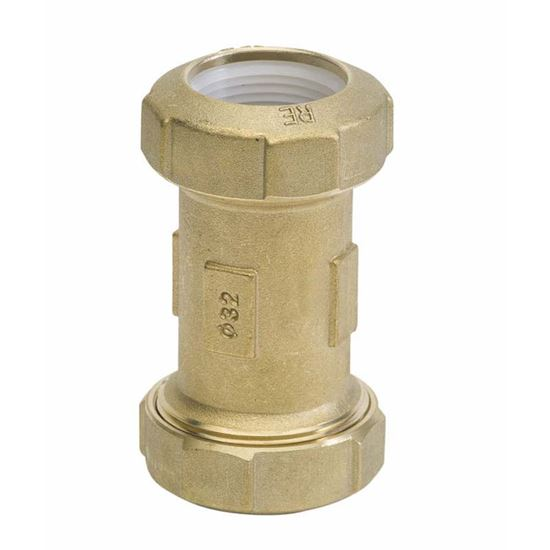 Immagine di Manicotto ottone, per polietilene, F Ø 25x25 mm