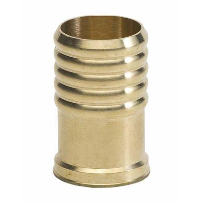 Immagine di Boccole di rinforzo ottone, per polietilene, Ø 25 mm