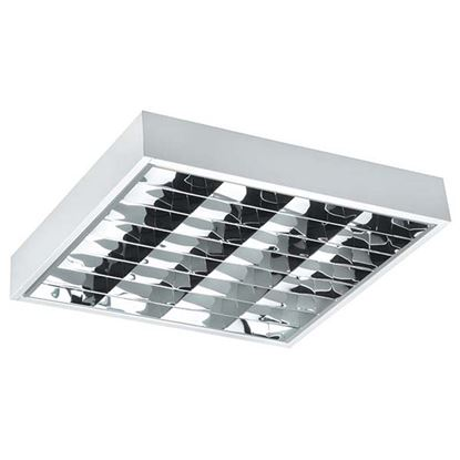 Immagine di Plafoniera sporgente dark light 4x18w elettronica