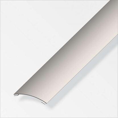 Immagine di Profilo di raccordo autoadesivo, 30x4 mm, acciaio inox, 1,0 mt
