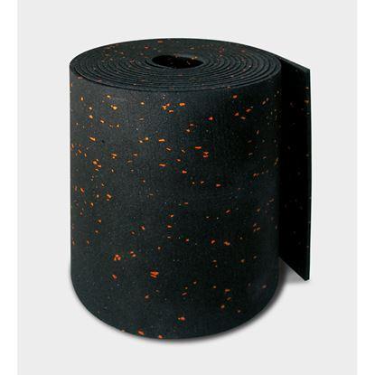 Immagine di Banda tagliamuro Isolband Ae 300, con mescole elastomerici, naturali e sintetici, densità 750 kg/m³, spessore 4 mm