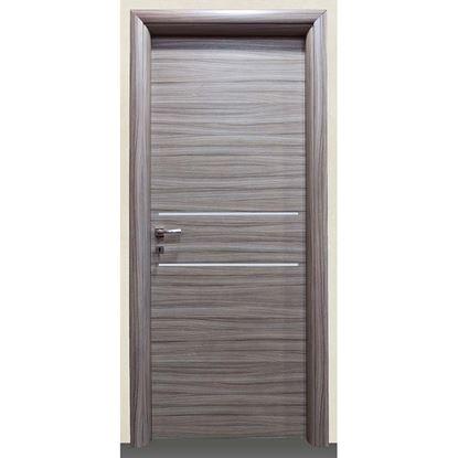Immagine di Porta loredana scracht grigio batt., revers., 68x214 cm, telaio piatto, acc. crs