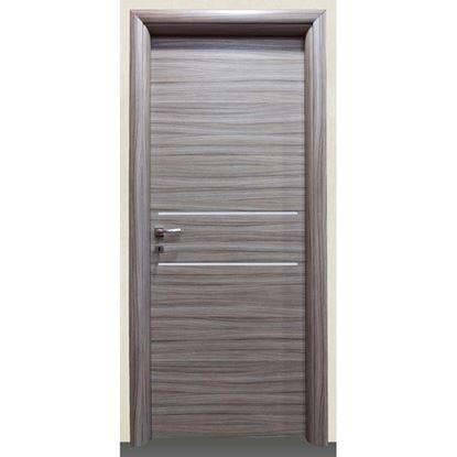 Immagine di Porta loredana scracht grigio batt., revers., 88x214 cm, telaio piatto, acc. crs