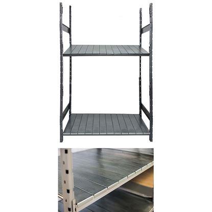 Immagine di Corrente sagomato per rack, da 150 cm, portata 350 kg