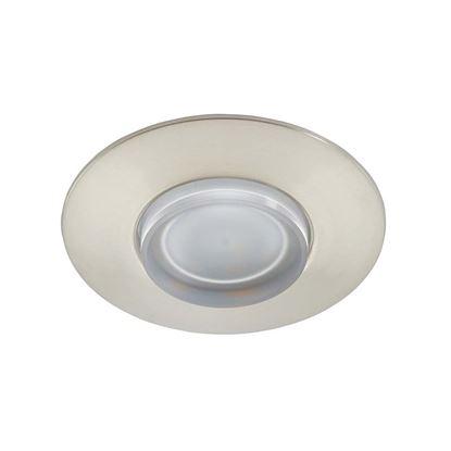 Immagine di Faretto LED 5W, incasso, Ø7,5 cm, IP44, 400 lumen, nikel satinato