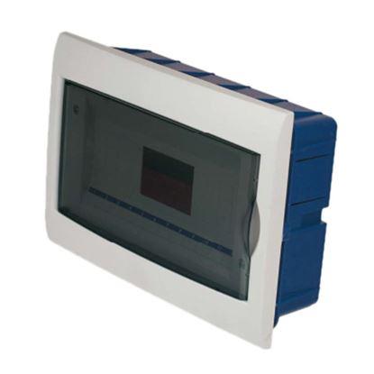 Immagine di Centralino Incasso sportello trasparente, IP40, 12 moduli
