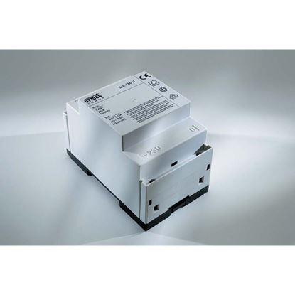 Immagine di Alimentatore citofono Urmet, per realizzazione impianti, 4 fili, con chiamata trdizionale, ed elettronica, 28va-230v