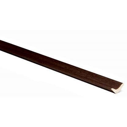 Immagine di Contrangolo, 22x10x3000 mm, colore noce scuro