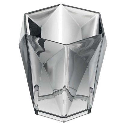 Immagine di Portaspazzolino, Diamante, colore grigio