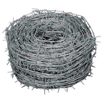 Immagine di Filo spinato zincato, 1,7x100 mt