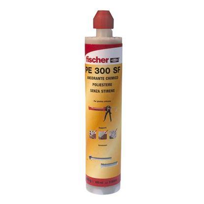 Immagine di Resina in cartuccia, poliestere 300 ml, 1 miscelatore, PE 300 SF