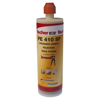 Immagine di Resina in cartuccia, poliestere 410 ml, 1 miscelatore, PE 410 SF