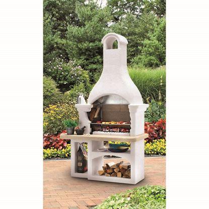 Immagine di Barbecue Palazzetti Incas legna/carbonella 128x71xh232 cm