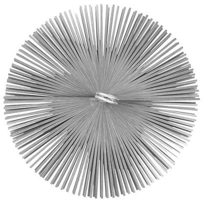 Immagine di Scovolo acciaio, tondo, Ø 120 mm