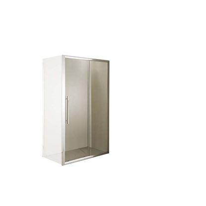 Immagine di Porta doccia scorrevole in cristallo 118/122x195 cm