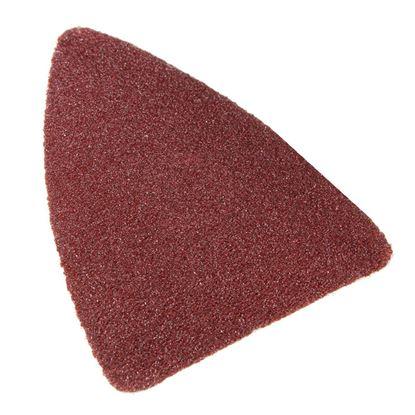 Immagine di 6 fogli carta abrasiva a delta, 2 parti, fori 6+5, 100x150 mm, grana 40