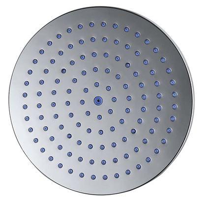 Immagine di Soffione doccia rotondo in abs, anticalcare,Ø 200 mm